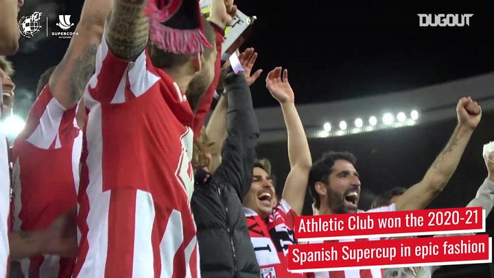 Athletic Club's epic 20/21 Spanish Supercup triumph