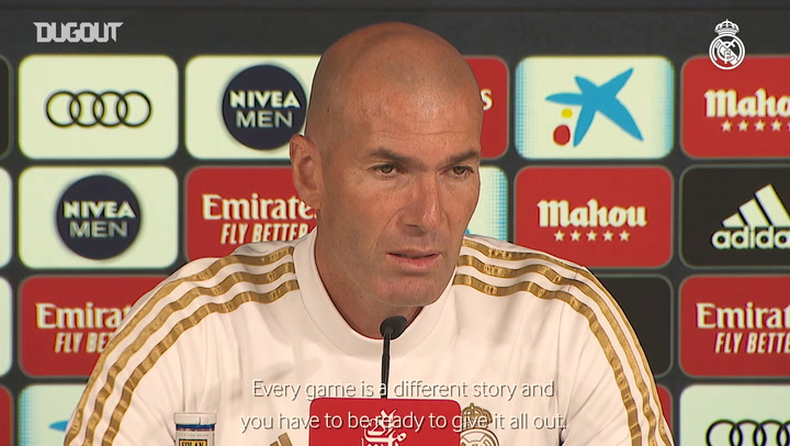 Zidane: 'We need to perform well vs Betis'