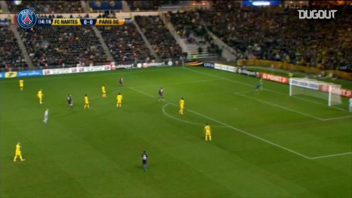 Throwback : Zlatan Brace Downs Nantes