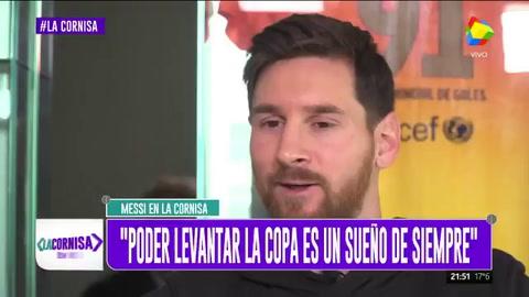 Messi: Levantar la copa en Rusia es el sueño de todos