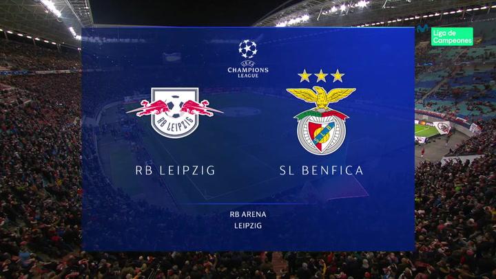 Champions League: Resumen y Goles del RB Leipzig - Benfica