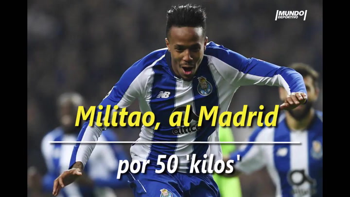 Militao, al Madrid