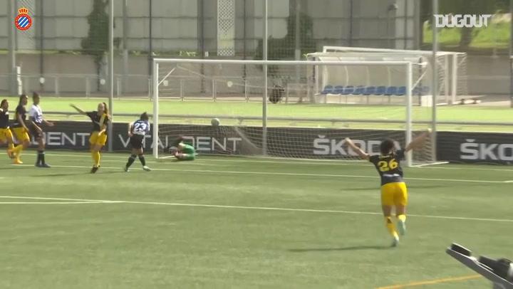 La victoria del Espanyol Femenino por 3-2 ante el Deportivo
