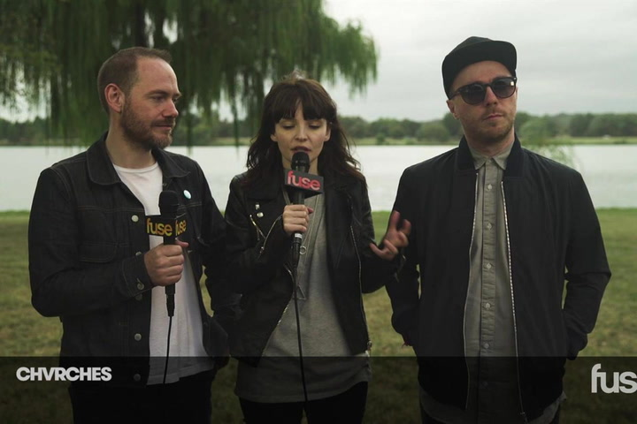 Chvrches Talk Every Open Eye at Landmark 2015