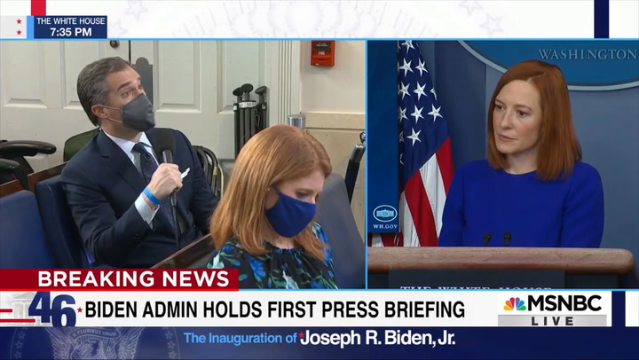 Psaki: Haven't Spoken with Biden on Whether He Has Confidence in FBI Dir. Wray