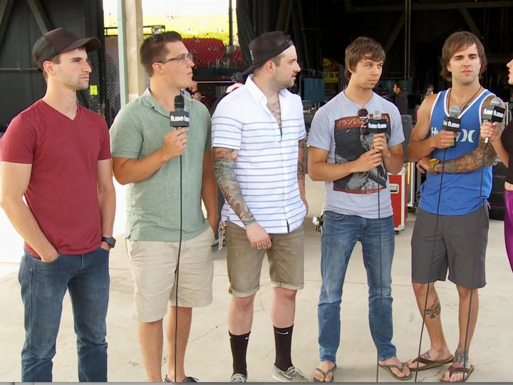 Festivals: Warped Tour 2013: August Burns Interview