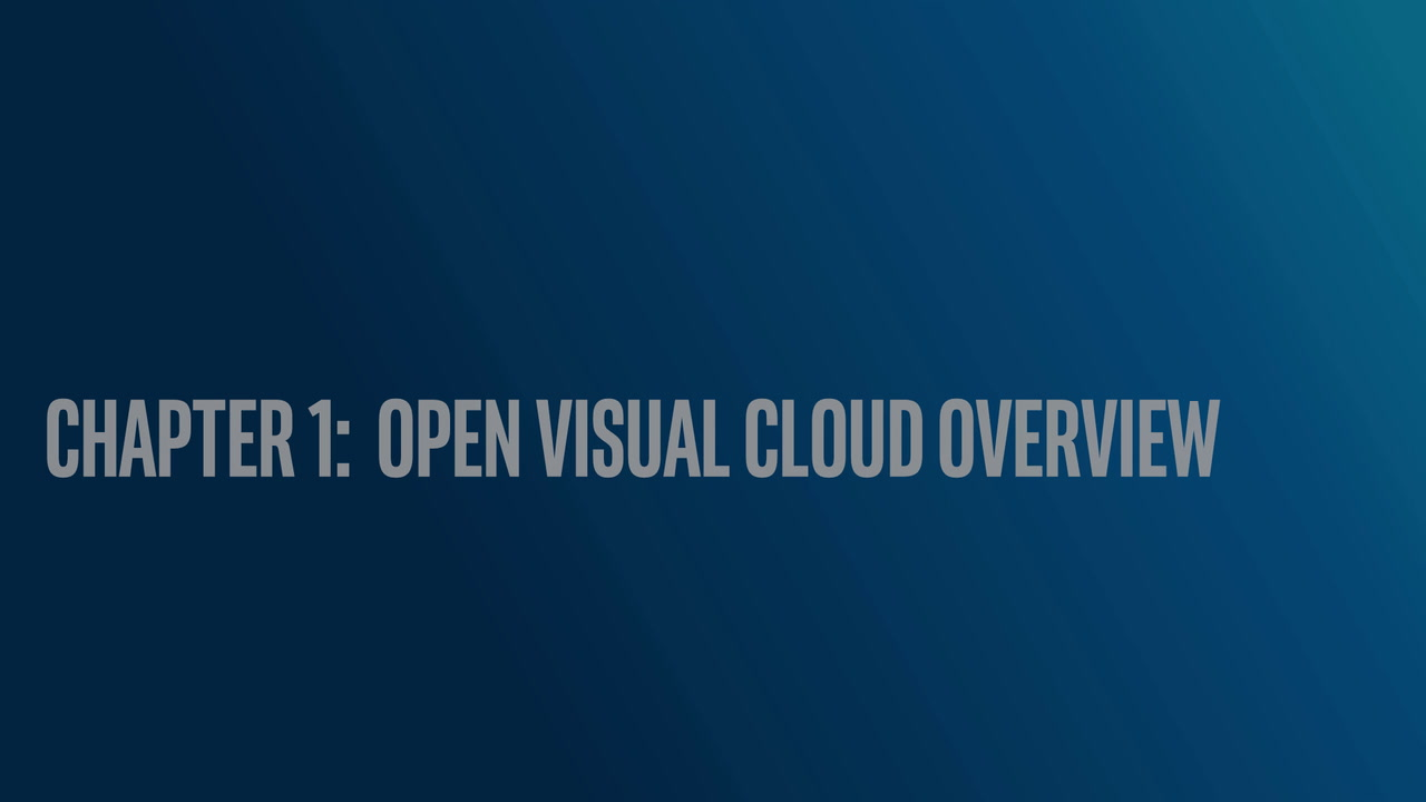 Chapter 1: Open Visual Cloud Overview