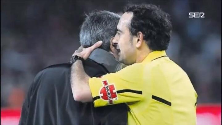 La conversación de Mourinho e Iturralde tras el 5-0 del Barça al Real Madrid