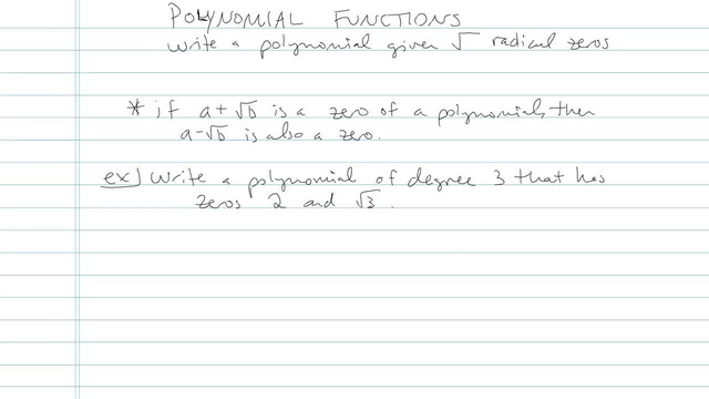 Polynomial Function - Problem 5