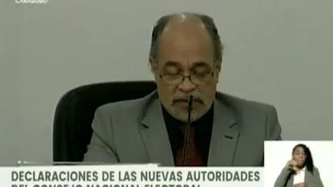 Exministro de Chávez y Maduro preside autoridad electoral de Venezuela