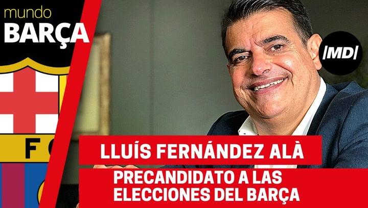 Entrevista MD a Lluís Fernández Alà, precandidato a las elecciones del Barça