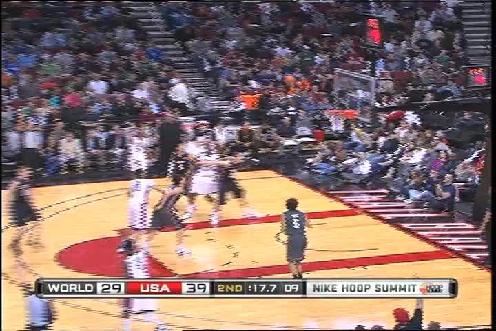 2011 Nike Hoop Summit 38 Sec Highlights