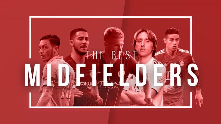 Best Midfielders: James Rodríguez