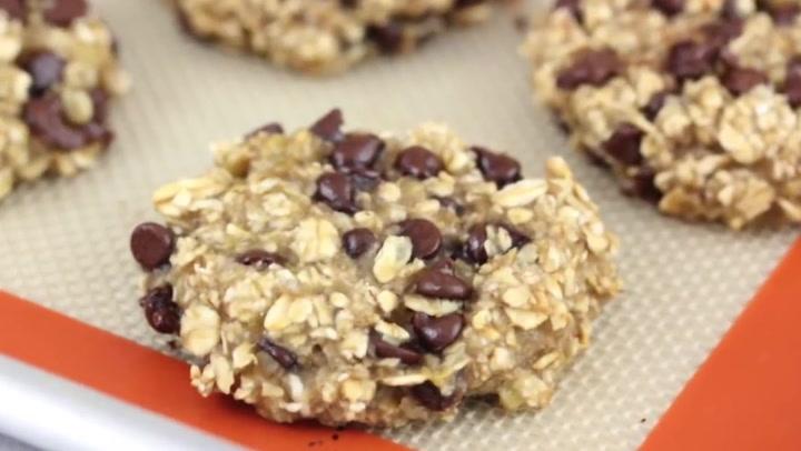 3 Ingredient Banana Oatmeal Breakfast Cookies Clean Delicious
