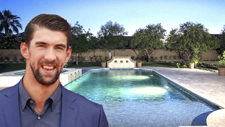 Michael Phelps' $4.1M Arizona Home Listing Makes a Big Splash