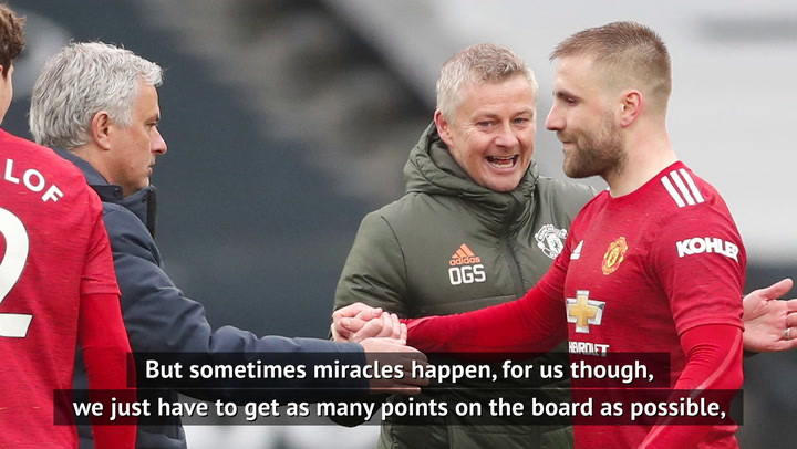 Catching Man City requires a 'miracle' - Solskjaer
