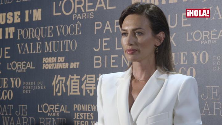 Nieves Álvarez: \'Presentar los Premios L\'Oréal supone para mí un gran privilegio\'