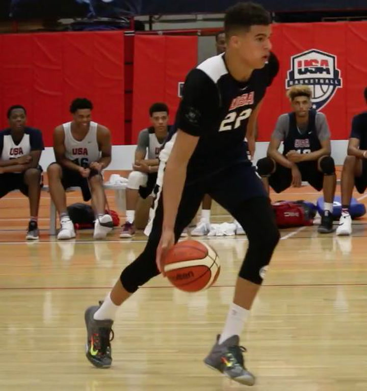 Michael Porter Jr. Gets In The Paint And Runs The Court
