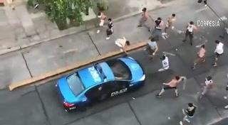 Pedradas, gases y caos en Argentina tras el All Boys-Atlanta