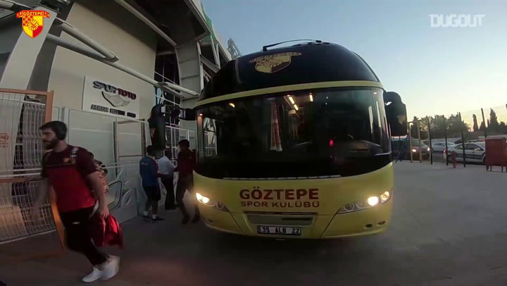 Behind The Scenes: Göztepe's Trip To Akhisar