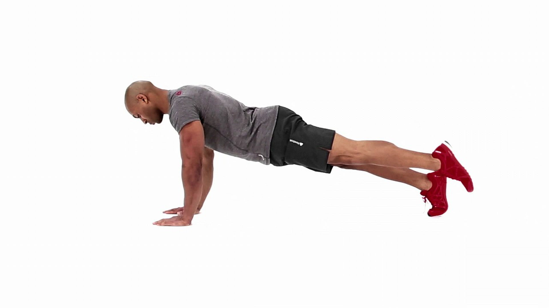 Plank With Knee To Elbow Exercise Video Guide Muscle Fitness