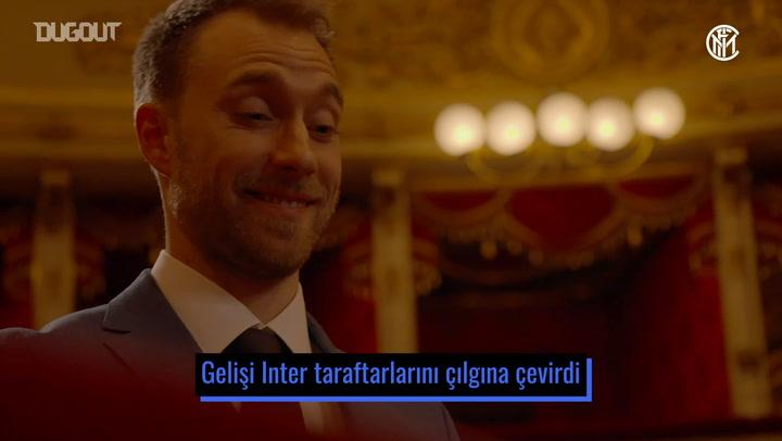 Christian Eriksen'in Inter'deki İlk Ayı