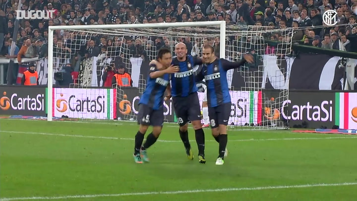 Inter's top five goals against Juventus in Turin