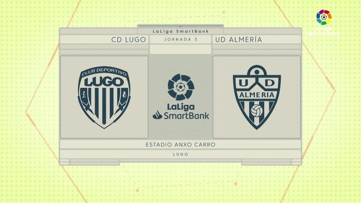 LaLiga Smartbank (Jornada 3): Lugo 0-2 Almería