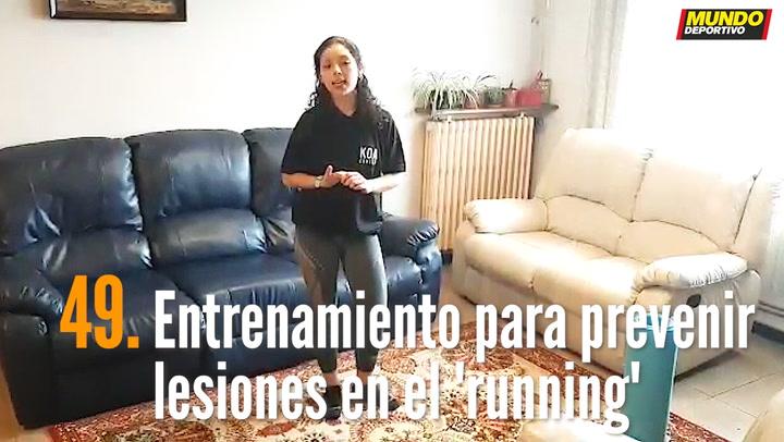 ENTRENA EN CASA (49): Entrenamiento para prevenir lesiones haciendo 'running'