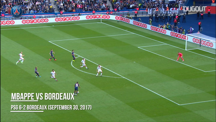 Best Assists: Mbappé Vs Bordeaux 2017