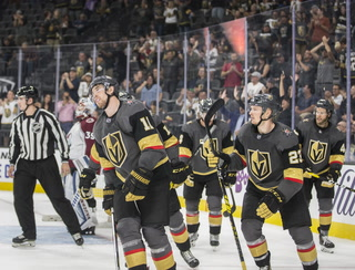 Golden Knights Suffer First Preseason Loss to Avalanche, 4-1 – Video