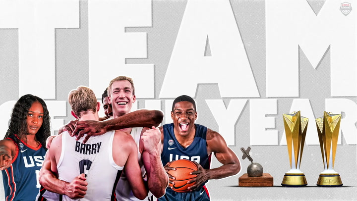 2019 USA Basketball Team of the Year