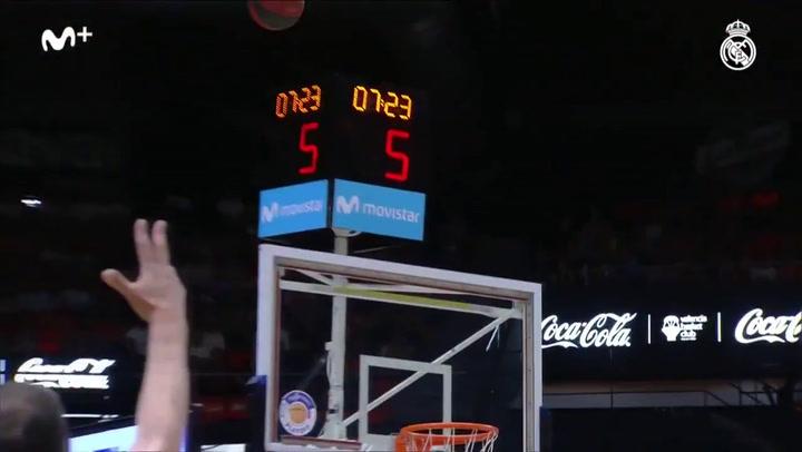 Liga Endesa: Valencia Basket-Real Madrid (78-85)