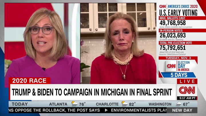 Dingell: Autoworkers Told Me They Are Voting for Trump-- 'It's Tightening Here in Michigan'