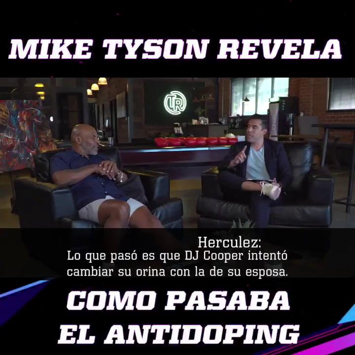 Mike Tyson cuenta como pasaba las pruebas de antidoping