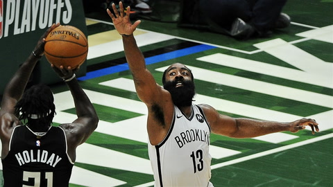 James Harden's hamstring, too many turnovers have Nets in trouble heading into Game 7 vs. Bucks | SportsNite
