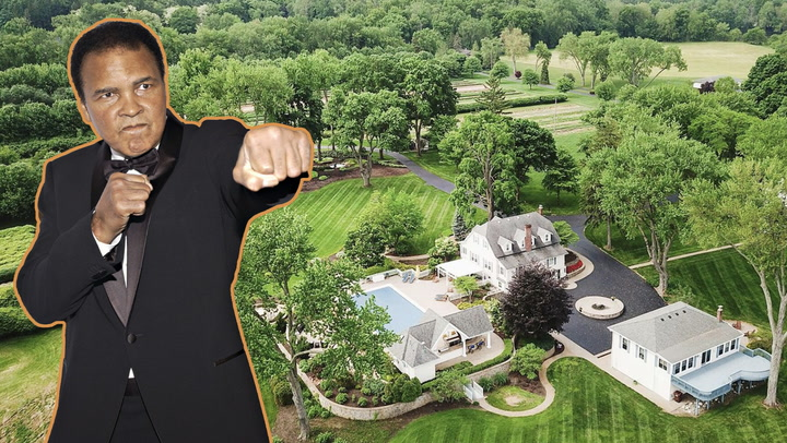 Former Home of Muhammad Ali Knocks Out a $2.5M Sale