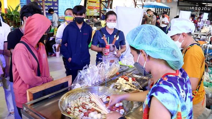 งานเทศกาลลูกชิ้นยืนกินบุรีรัมย์คึกคัก ลิซ่าพาปังเหลือเชื่อ