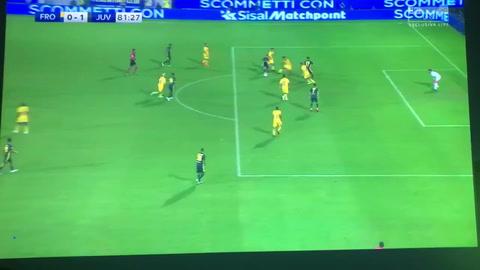 Cristiano Ronaldo anotó en el triunfo de la Juventus sobre el Frosinone