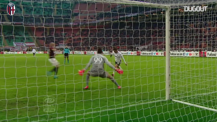 Emanuele Giaccherini's late winner at AC Milan