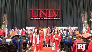 UNLV Winter Graduation Packs Thomas & Mack