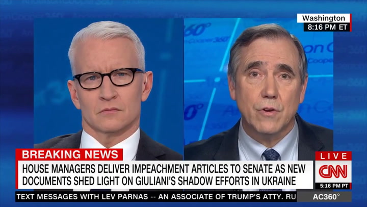 Dem Sen. Merkley: Trump's Lawyers 'Deserve to Pull in Whoever They Feel Contributes to Their Case'