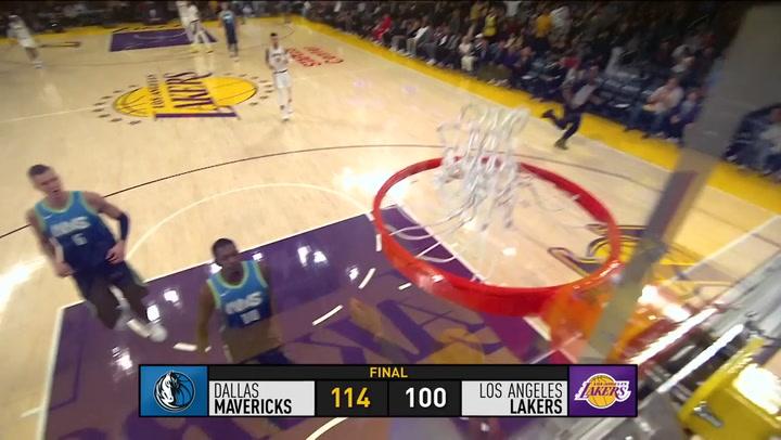 El resumen de la jornada de la NBA