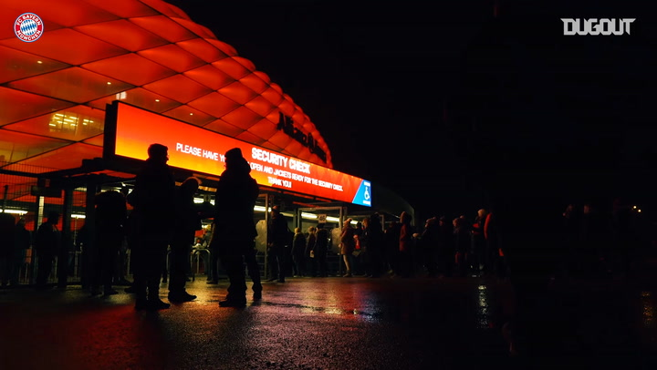 European Nights: Behind The Scenes At Allianz Arena