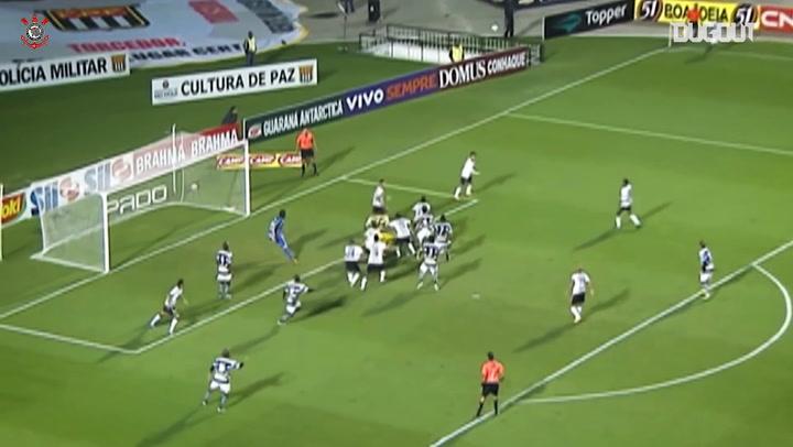 Cassio's best Corinthians saves