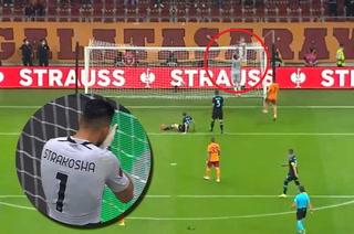 Thomas Strakosha cometió un grave error que le costó la derrota a su equipo frente al Galatasaray turco.