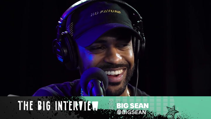 """Big Sean Gets Personal During A Game of """"I Decided"""""""
