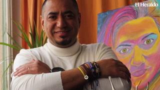 La historia del pintor hondureño Mario Gutiérrez, quien lleva su arte por todo el mundo