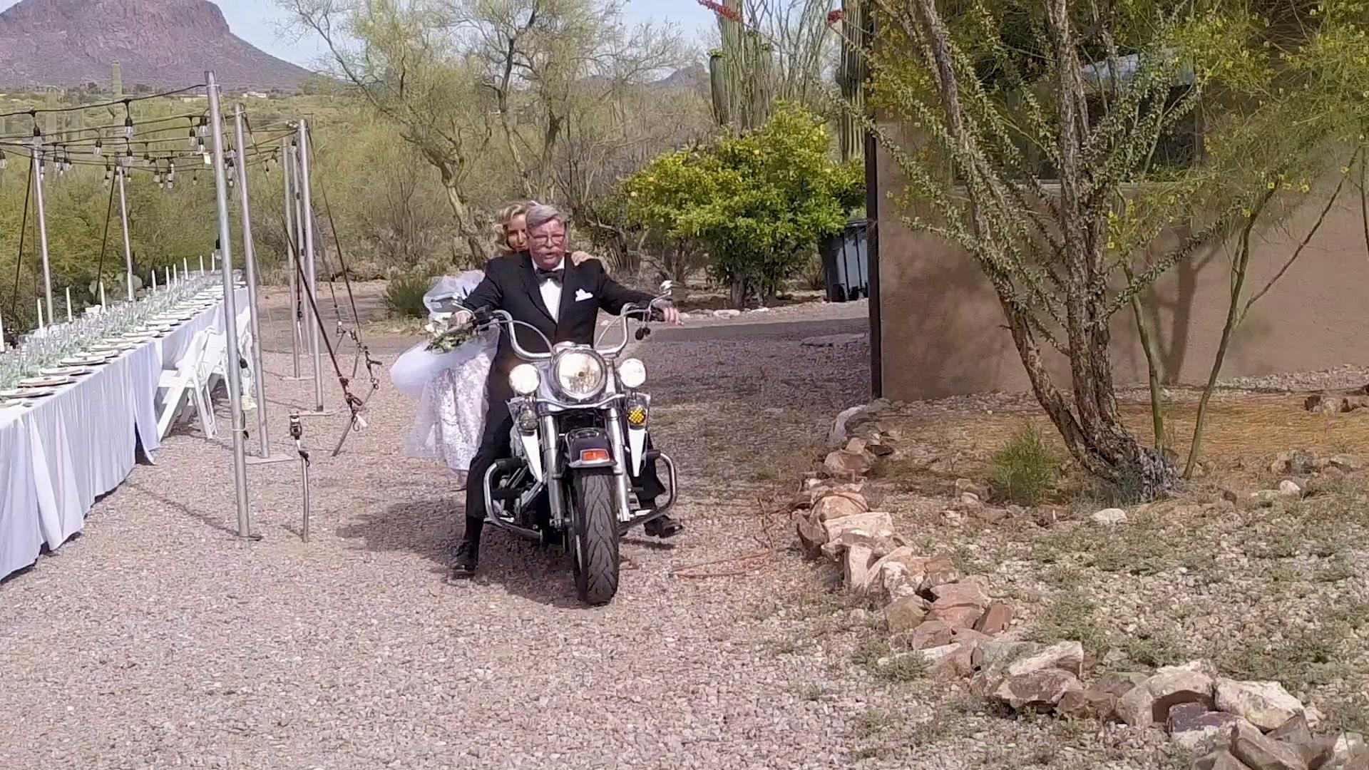 Cailey + Brendan | Tucson, Arizona | a desert