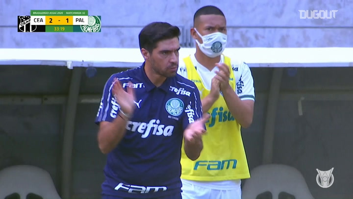 Gabriel Veron's classy finish vs Ceará